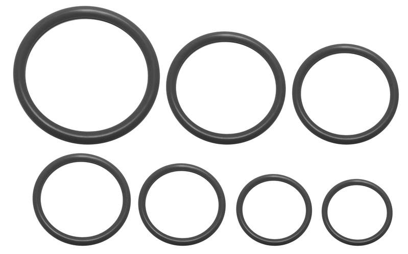 Buna O-Rings Assortment Kit, -03AN To -16AN Pack, 10 Pack