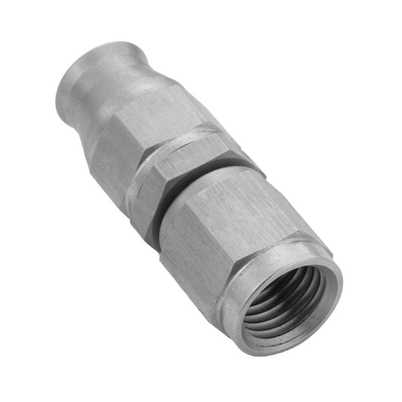 Stainless Steel Straight Hose End Hose End -04AN For PTFE Hose