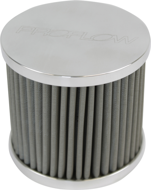 Oil Breather Filter Billet -08AN Female thread, Polished