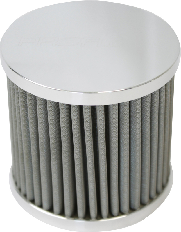 Oil Breather Filter Billet -10AN Female thread, Polished