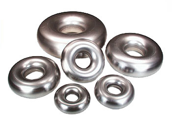 "Tube, Air /Exhaust Mild Steel Full Donut 3.0"" (75mm) 2.03mm Wall"