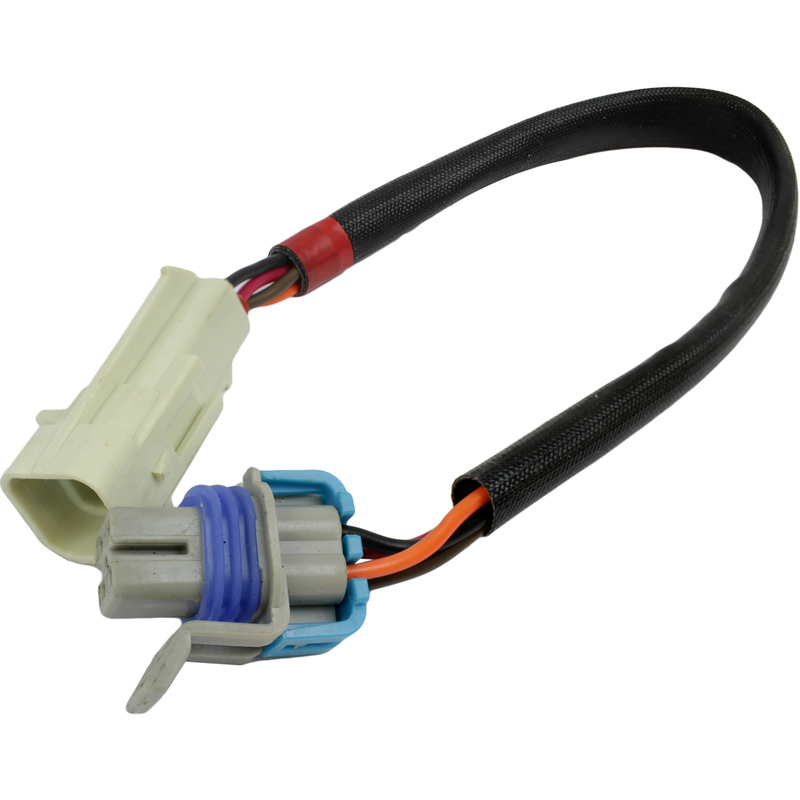 O2 Sensor Wire Harness Extension 12in. LS Oxygen Sensor Square 4-Wire 1-Keyway Connector Plug