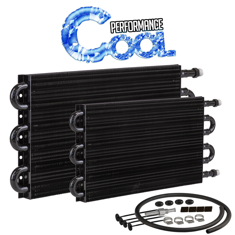 "Performance Cool 10"" x 15-1/2"" Transmission Cooler -06An, Tube & Fin , Gvw 20500"