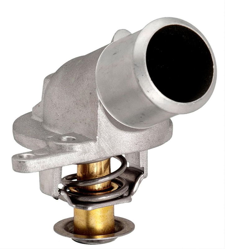 Thermostat, 186 Degrees F, With Aluminum Thermostat Housing, Stainless Steel Thermostat Chevy, Holden Commodore , LS, Each
