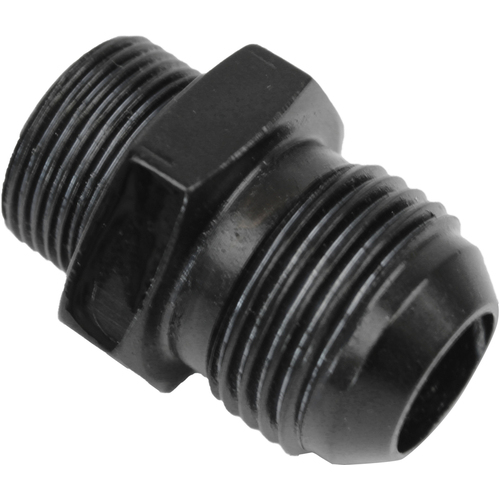 Valve Cover Breather Adaptor Hose End To -10AN, Black, Holden Commodore VL, Nissan RB