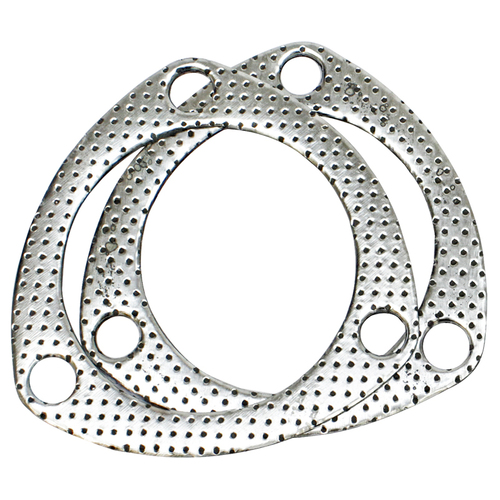 Collector Gaskets, Graphite, 3-Hole, 3.00 in. Inside Diameter, Pair